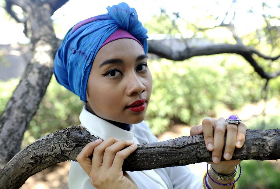 Yuna, the Malaysian singer-songwriter, worked with several big name producers on her second album, 'Nocturnal.' CHICAGO, IL - AUGUST 5: Yunalis Zarai aka Yuna poses at Day Three of Lollapalooza 2012 at Grant Park on August 5, 2012 in Chicago, Illinois. (Photo by Tim Mosenfelder/Getty Images) Photo: Tim Mosenfelder, Getty Images