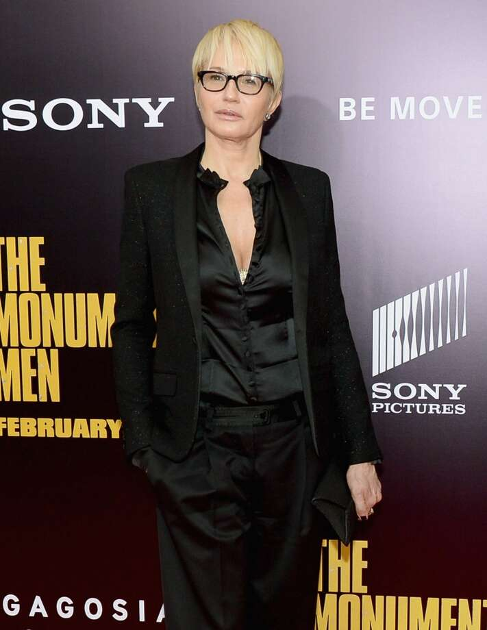 "Actress Ellen Barkin attends the ""Monument Men"" premiere at Ziegfeld Theater on February 4, 2014 in New York City, New York. Photo: Michael Loccisano, Getty Images"