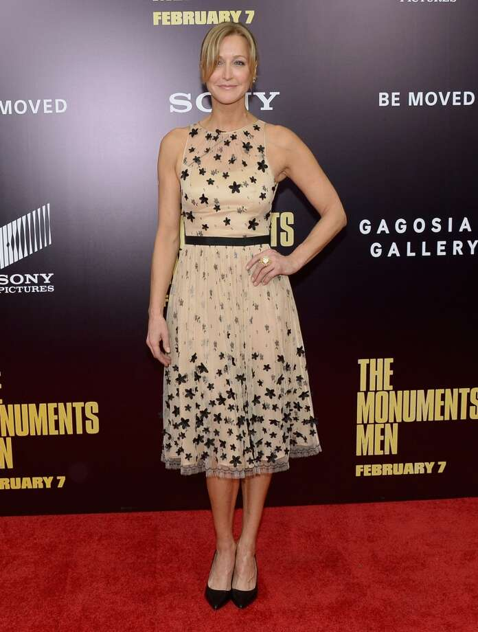 "Lara Spencer attends the ""Monument Men"" premiere at Ziegfeld Theater on February 4, 2014 in New York City, New York. Photo: Michael Loccisano, Getty Images"
