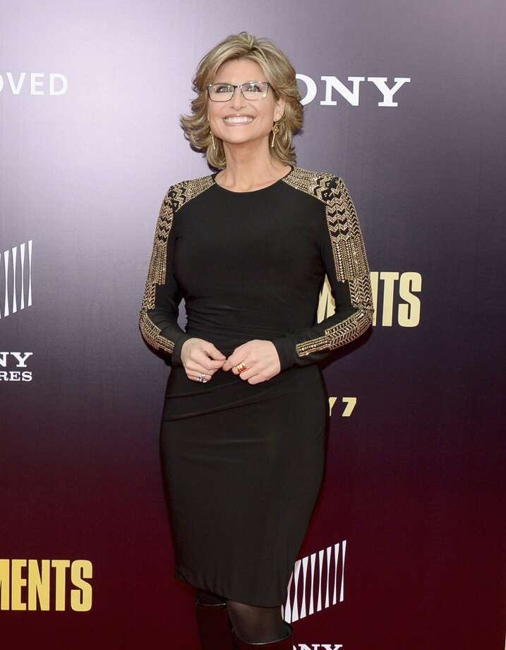 "Ashleigh Banfield attends the ""Monument Men"" premiere at Ziegfeld Theater on February 4, 2014 in New York City, New York. Photo: Michael Loccisano, Getty Images"