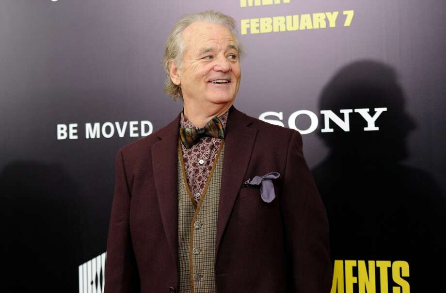 "Actor Bill Murray attends the premiere of ""The Monuments Men"" at the Ziegfeld Theatre on Tuesday, Feb. 4, 2014 in New York. Photo: Evan Agostini, Associated Press"