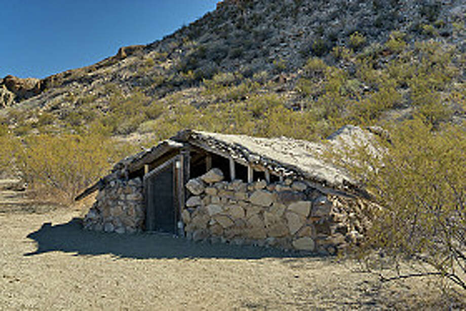 Luna's Jacal original settler's house at Chihuahuan Desert, in Big Bend National Park. Photo: Witold Skrypczak, Getty Images/Lonely Planet Images / Lonely Planet Images