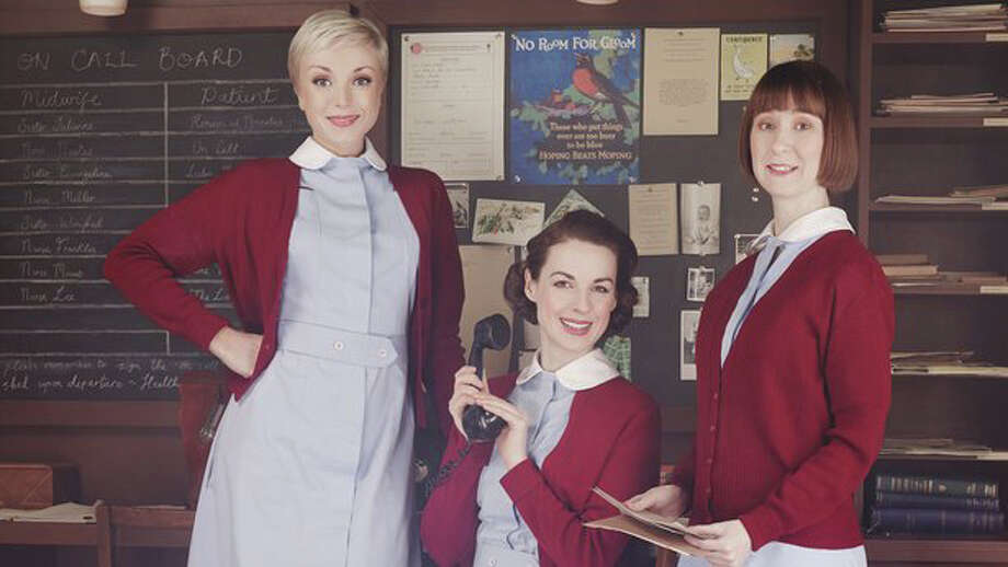 An episode of  ìCall the Midwife,î a BBC series, will be shown on Monday, Feb 10 for the next meeting of Beyond the Bookclub - a program created by The Fairfield Senior Center and the Pequot Library focusing on women's contributions. Photo: Contributed Photo / Fairfield Citizen
