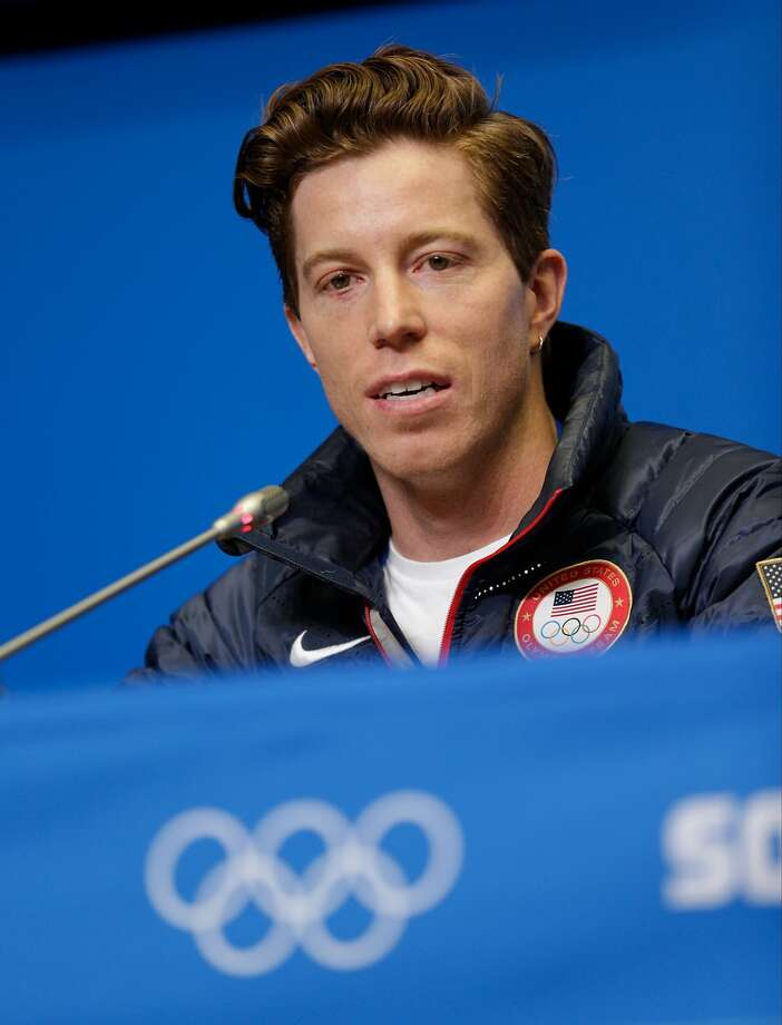 Shaun White said his wrist injury is not that serious. Photo: Andrew P. Scott, Reuters