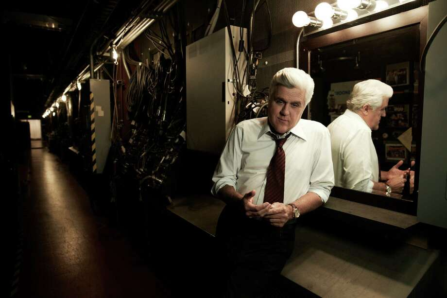 Jay Leno, the regular Joe of the late-night hosts, hangs up his 'Tonight' mike Thursday. Photo: NBC / 2012 NBCUniversal Media, LLC
