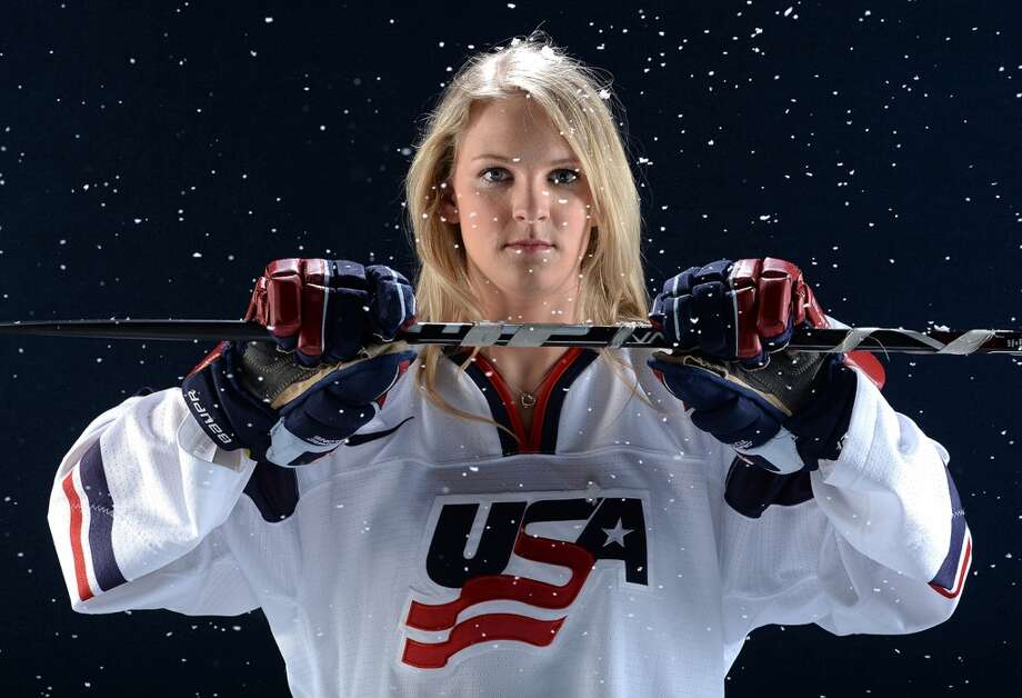 Amanda KesselIce hockeyMadison, Wis.Kessel is an offensively gifted player who earned several accolades during the 2012-13 season, including the Patty Kazmaier Memorial Award and the NCAA title with the University of Minnesota. She is making her Olympic debut in Sochi, alongside her brother, Phil Kessel, a member of the men's hockey team. @AmandaKessel8 Photo: Getty Images