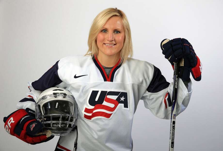 Monique LamoureuxIce hockeyGrand Forks, N.D.Lamoureux is a talented and physical player who, along with her twin sister, Jocelyne Lamoureux, is looking to earn the gold medal in Sochi after previously winning the silver medal in 2010. Coming off very successful senior seasons at the University of North Dakota, the twins have helped the U.S. capture three world titles, including two in the last three years. @moniquelam7 Photo: Getty Images