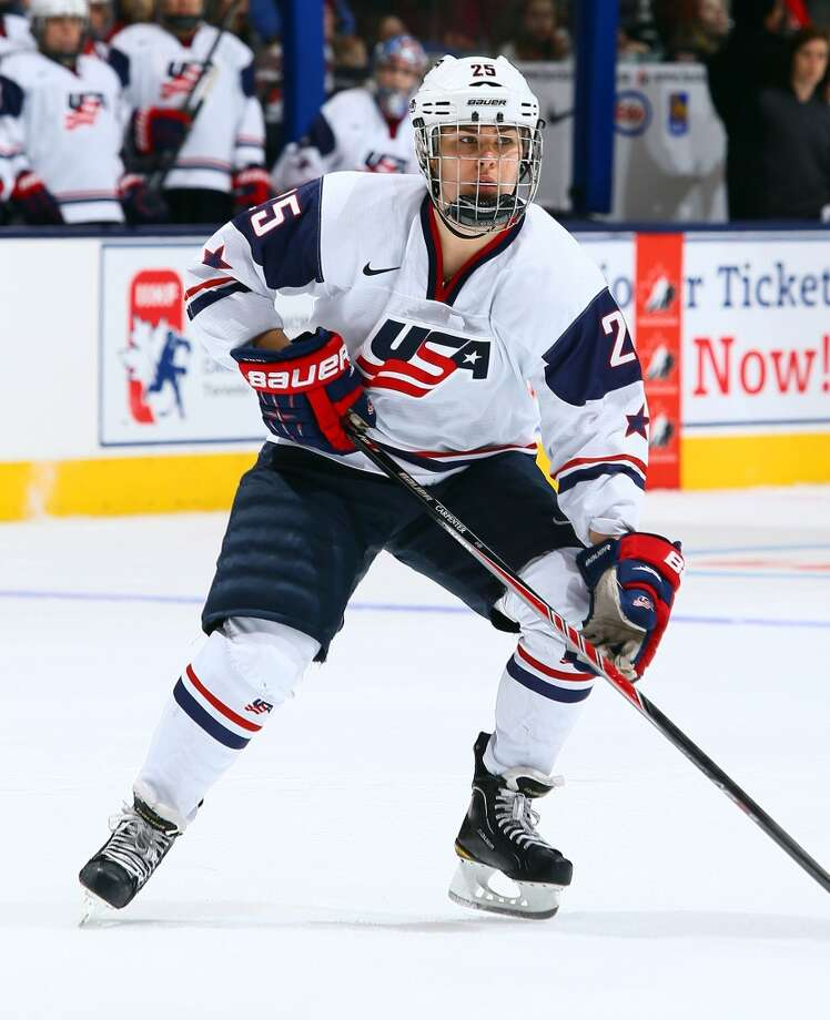 Alex CarpenterIce hockeyNorth Reading, Mass.Carpenter, the daughter of long-time NHL veteran Bobby Carpenter, is making her first Olympic appearance. After winning her first world title with the senior national team in 2013, she is a valuable offensive contributor at the forward position. @carpy05 Photo: Abelimages, Getty Images