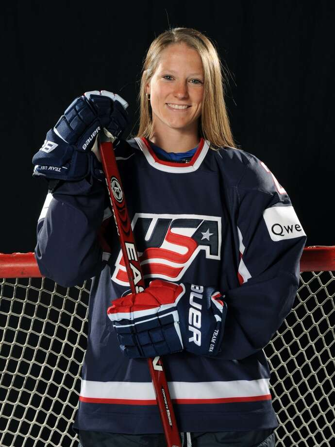 Kacey BellamyIce hockeyWestfield, Mass.Bellamy has been a leader and physical presence on defense for Team USA the last few years. She is one of 11 returning veterans from the 2010 Olympic Team that earned the silver medal and is poised to help bring home the gold medal in Sochi.@kbells22 Photo: Tom Dahlin, Getty Images