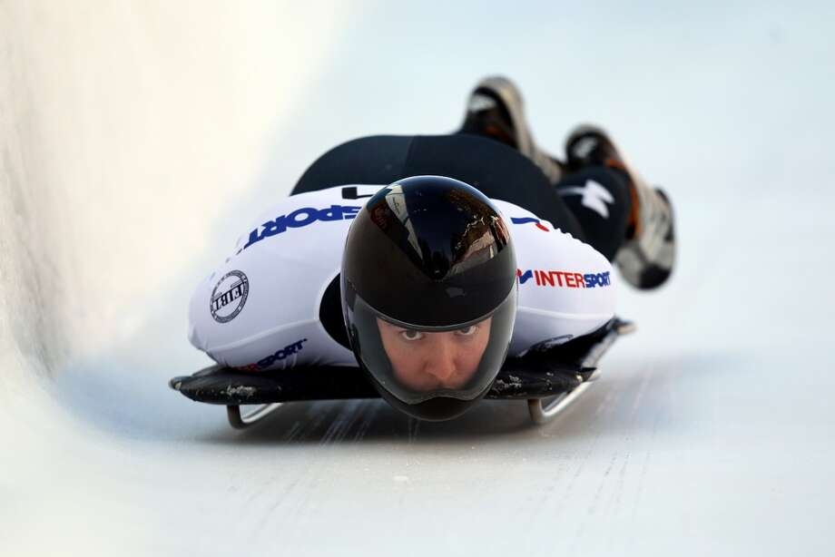 Kyle TressSkeletonEwing, N.JTress was inspired to begin competitng in skeleton after watching the Salt Lake City Olympic Winter Games in 2002. Since then, he has steadily climbed the international ranks with multiple top-10 world cup finishes, highlighted by two fifth-place world cup finishes. He is making his Olympic debut at the Sochi Games.@KyleTress Photo: Richard Heathcote, Getty Images