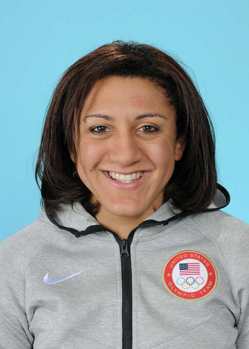 Elana Meyers Bobsled, pilot Douglasville, Ga.  Meyers made her Olympic debut as a push athlete at the Vancouver 2010 Olympic Winter Games, earning a bronze medal with pilot Erin Pack. Following the 2010 Games, she moved into the driver's seat and quickly emerged as one of the top women's pilots in the nation. The two-time world championships medalist has collected seven medals so far this season, and is in the running for the overall world cup title heading into Sochi, where she claimed silver at the test event on Feb. 15, 2013. @Eamslider24 Photo: (c)2014 USOCt9 / (c)2014 USOC