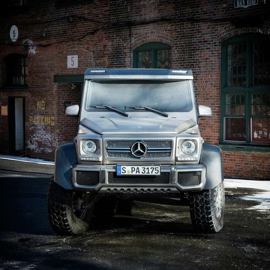 The Mercedes G 63 AMG 6x6. (Photo: Mercedes-Benz) Photo: Courtesy Mercedes-Benz