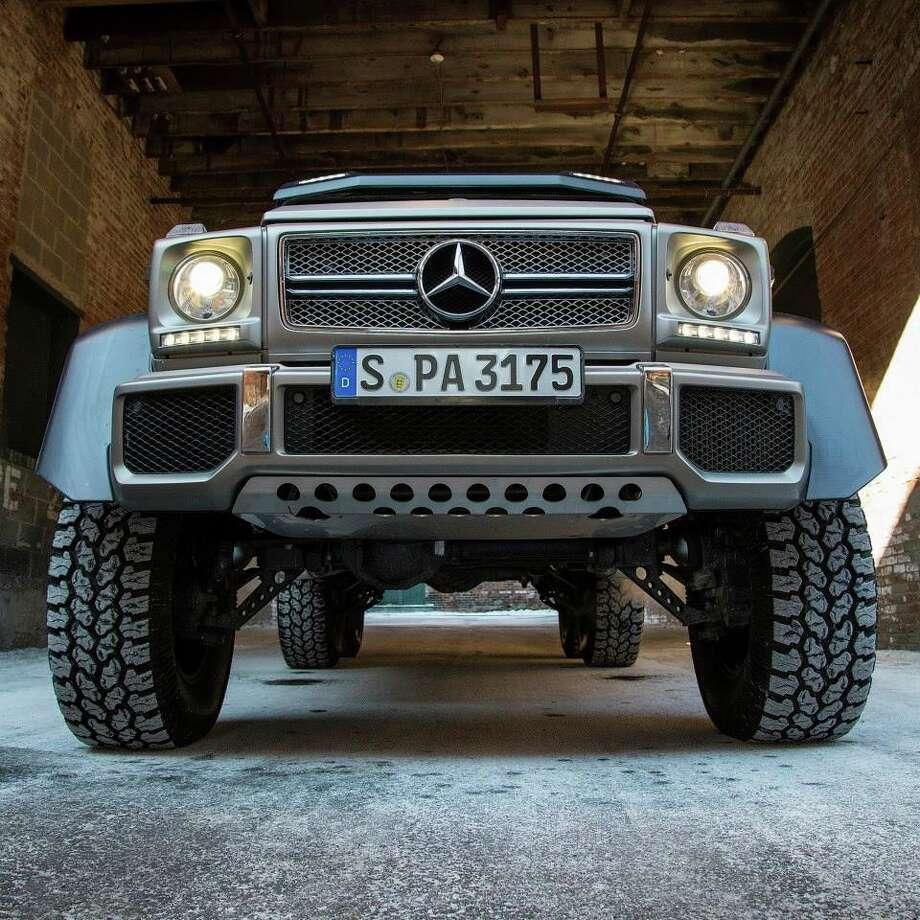 The Mercedes G 63 AMG 6x6. (Photo: Mercedes-Benz) Photo: Courtesy Mercedes-Benz
