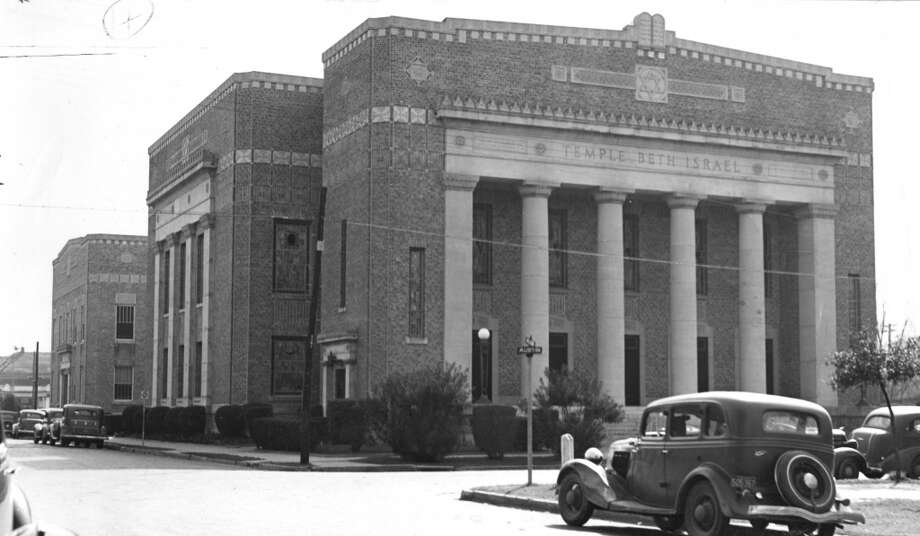 Temple Beth Israel is a Reform Jewish synagogue in Houston. It is the oldest Jewish congregation in Texas and was founded in 1854 at Crawford and Franklin. A new temple at Austin and Holman was dedicated in 1925. Photo: Houston Chronicle Files