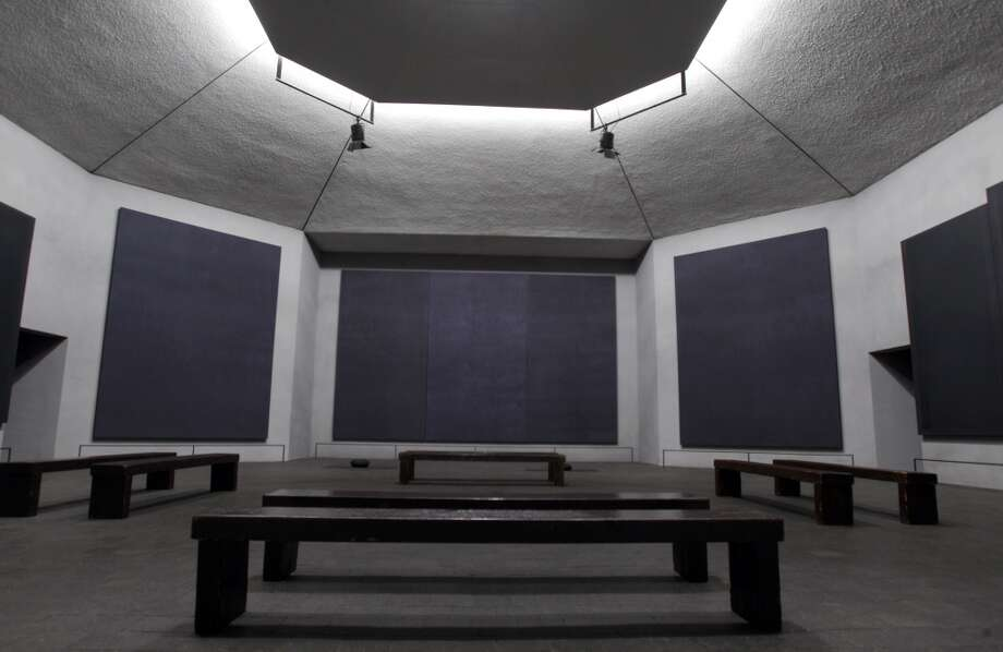 The Rothko Chapel was dedicated in 1971 as a universal place of worship. The chapel resides near the Menil Art Museum in Houston, Texas. (Melissa Phillip / Houston Chronicle) Photo: Melissa Phillip, Houston Chronicle