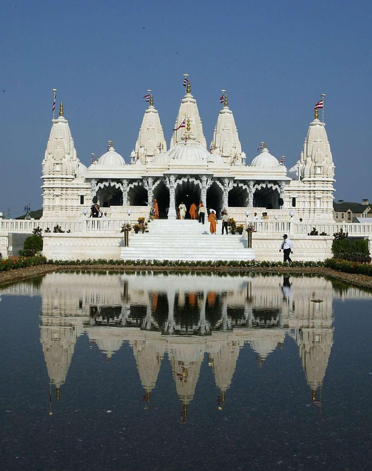 The Hindu temple Shree Swaminarayan Mandir.