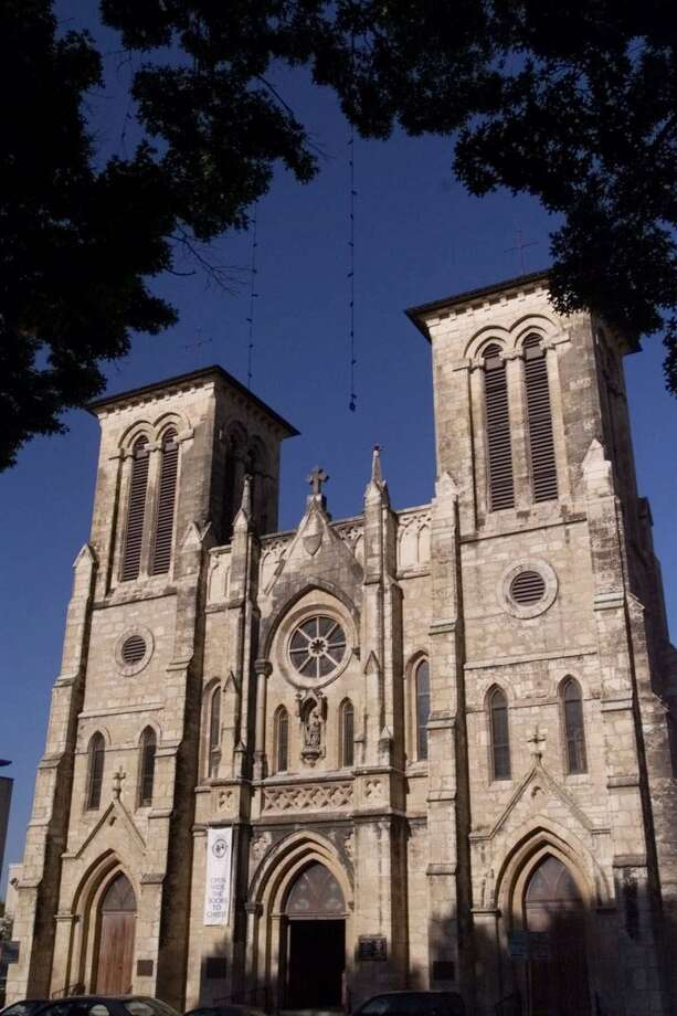 The San Fernando Cathedral in San Antonio, TX is not only the seat of its diocese's archbishop; it is also the oldest cathedral in the U.S. (Billy Calzada / San Antonio Express) Photo: ERIC GAY, AP