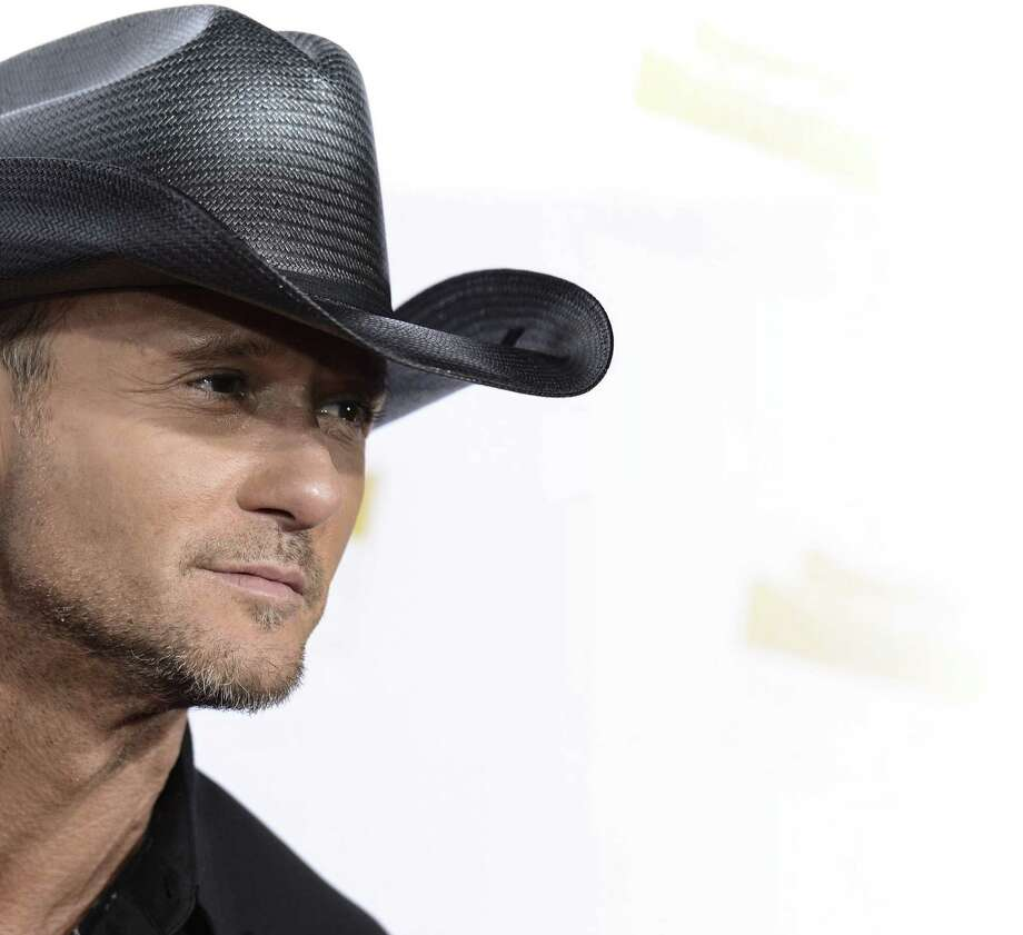 Country superstar Tim McGraw will play two concerts at the AT&T Center on Saturday. Photo: Dan Steinberg / Invision Via Associated Press / Invision
