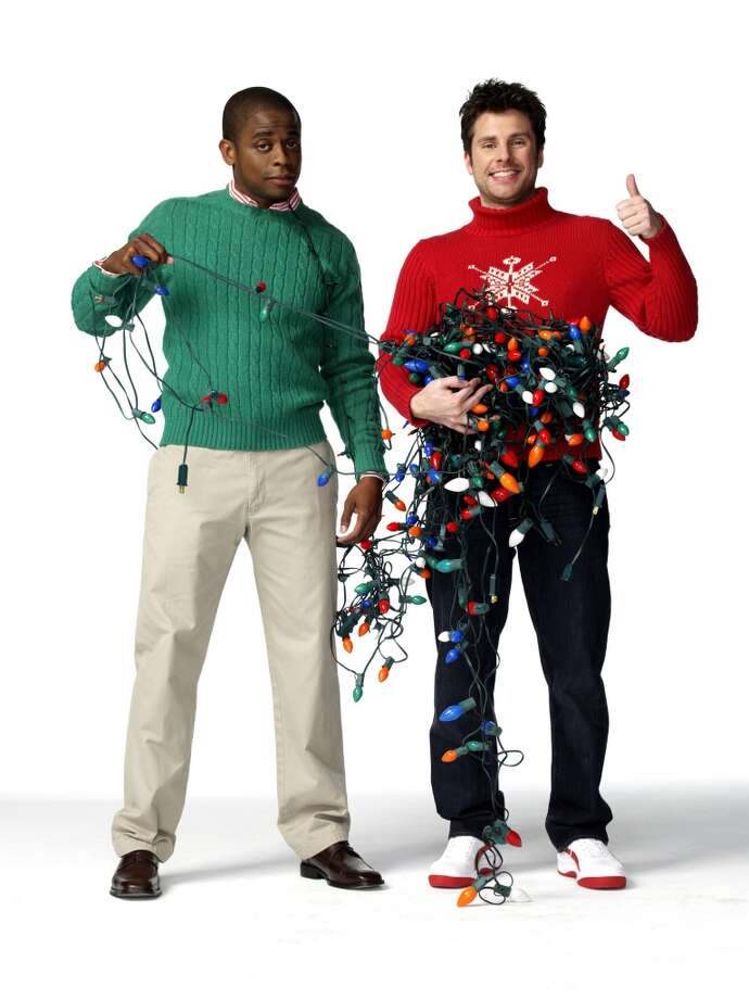"""Psych Season 2 -- (l-r) Dule Hill as Burton """"Gus"""" Guster, James Roday as Shawn Spencer. Photo: USA Network, USA Network Via Getty Images"""