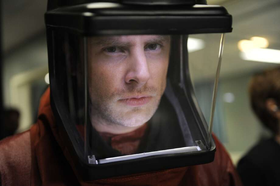 """Death Is In The Air"" Episode 4012 -- Pictured: James Roday as Shawn Spencer. Photo: NBC, NBC Via Getty Images"