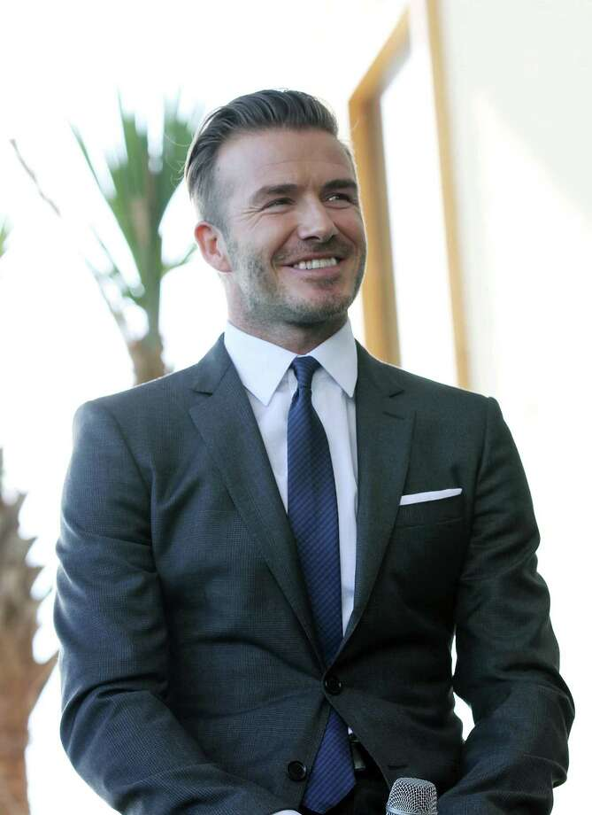 MIAMI, FL - FEBRUARY 05: David Beckham attends a press conference to announce their plans to launch a new Major League Soccer franchise at PAMM Art Museum on February 5, 2014 in Miami, Florida. (Photo by Aaron Davidson/Getty Images) ORG XMIT: 467350547 Photo: Aaron Davidson / 2014 Getty Images