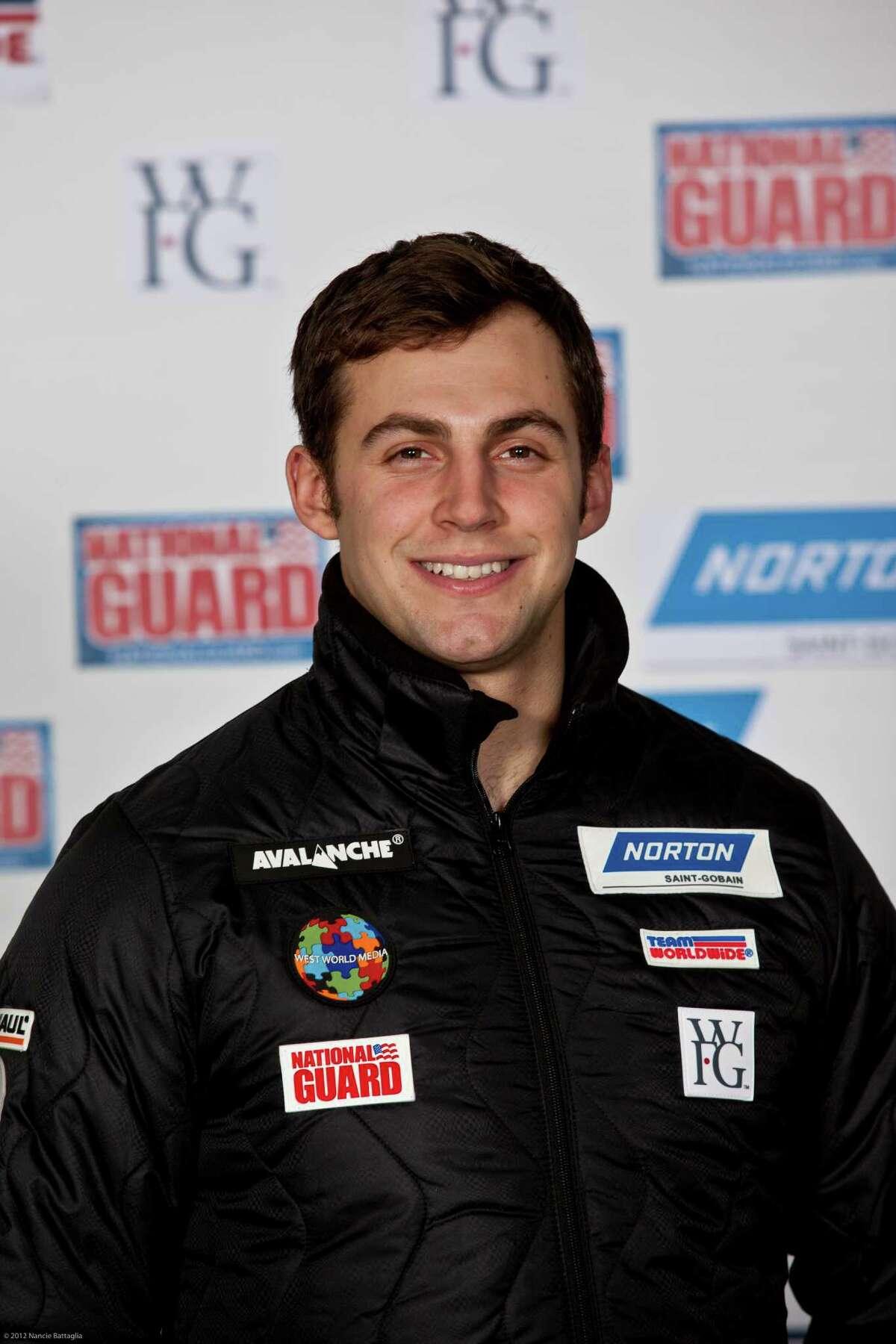 USA luge team member Chris Mazdze. (Courtesy Nancie Battaglia)