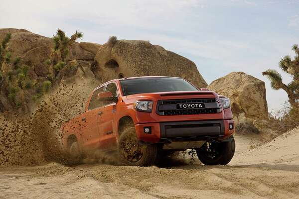 Toyota this week debuts the new off-road TRD Pro Series edition of the San Antonio-made Tacoma and Tundra pickups and 4Runner SUV at the Chicago Auto Show. The manufacturer's past TRD models have won numerous awards in the Baja 500 and 1000 endurance races