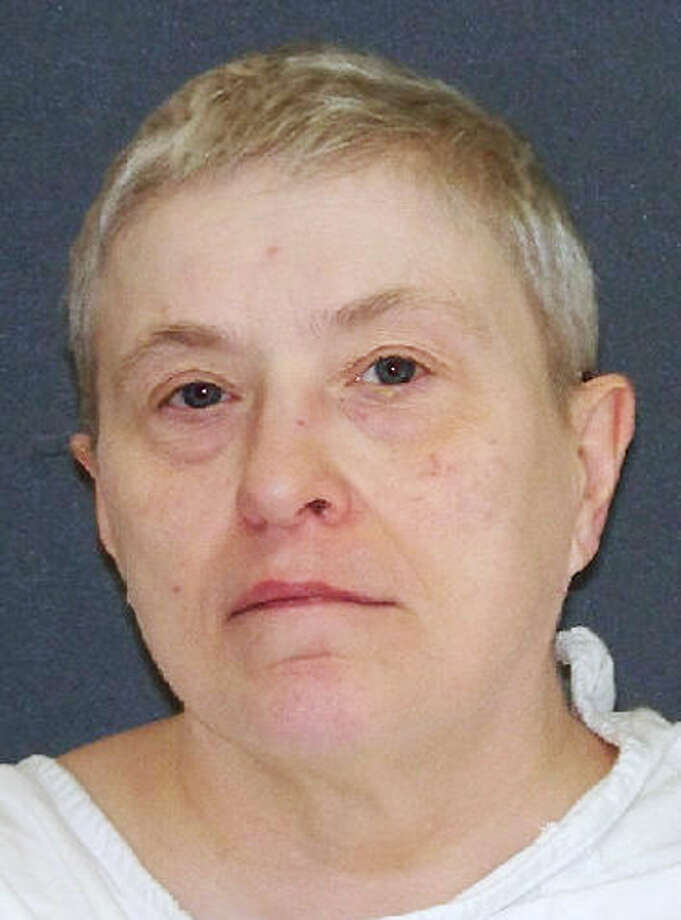"This handout image provided by the Texas Department of Criminal Justice shows capital murder defendant Suzanne Basso. On Wednesday, Feb 5, 2014 Basso, 59,  is scheduled to die for for the torture slaying of Louis ""Buddy"" Musso, a mentally impaired man near Houston more than 15 years ago.(AP Photo/Texas Department of Criminal Justice) ORG XMIT: TXKJ101 / Texas Department of Criminal Justice"