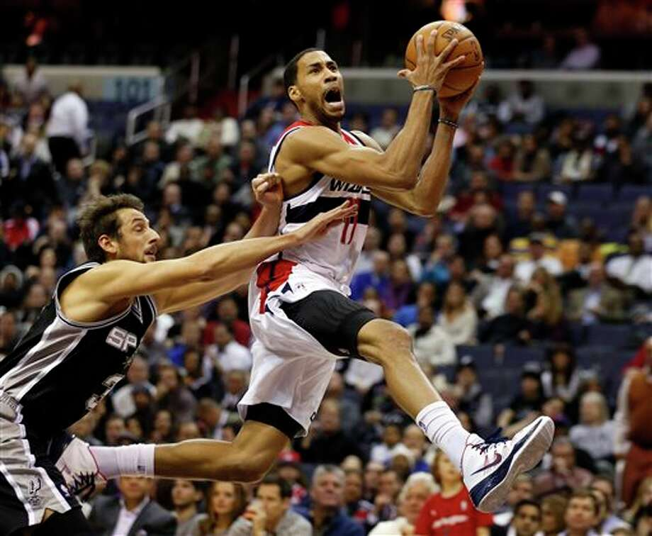 Garrett Temple, guard with Wizards, averaging 2.4 points, 1.2 rebounds, 1.3 assists in 2014. Photo: Alex Brandon, AP / AP