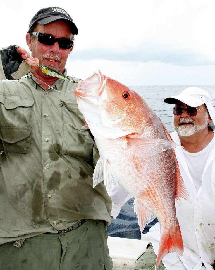 Texas offshore anglers will likely see a 40-day (June 1-July 10) recreational fishing season for red snapper in federally controlled waters of the Gulf of Mexico, although decisions in coming weeks could lengthen or shorten that season. Photo: Picasa