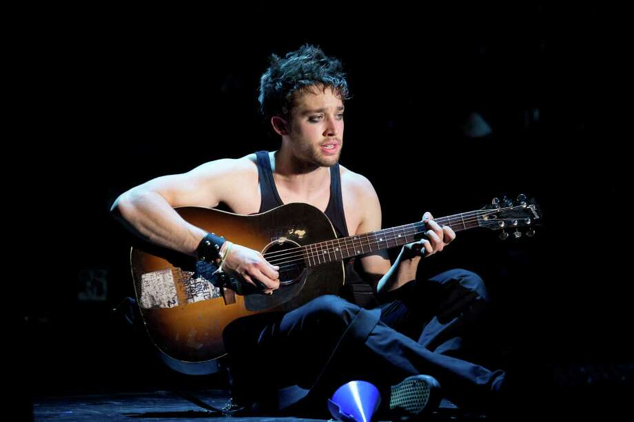 "Casey O'Farrell is featured in the touring production of the Green Day musical, ""American Idiot,"" at the Palace Theater in Waterbury on Saturday, Feb. 15. Photo: Contributed Photo / Connecticut Post Contributed"