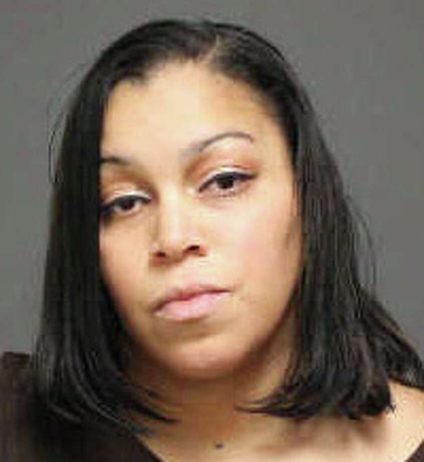 Raquel Pina, 34, of Bridgeport, was arrested on a warrant Wednesday and charged with sixth-degree larceny. Photo: Contributed Photo / Fairfield Citizen