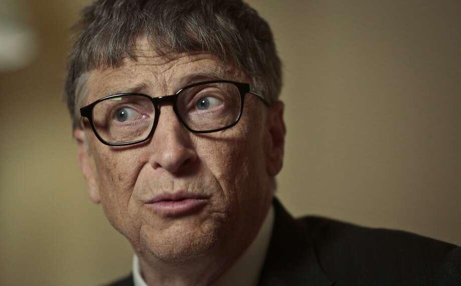 Bill Gates, above, was likened to Steve Jobs by author Geoffrey Moore. Photo: Bebeto Matthews, Associated Press