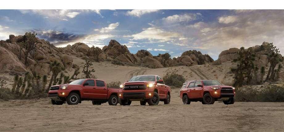 Toyota TRD Pro Series.  (PRNewsFoto/Toyota Motor Sales, U.S.A., Inc.) Photo: HO / TOYOTA MOTOR SALES, U.S.A., INC.