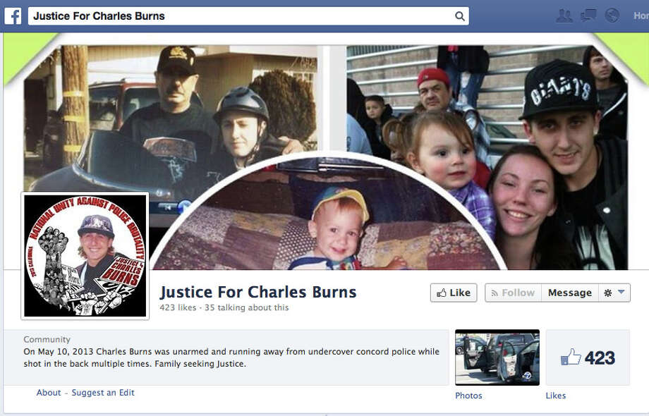 Family and friends started a facebook page after the death of Charles Burns on May 10, 2013. Photo: Facebook.com