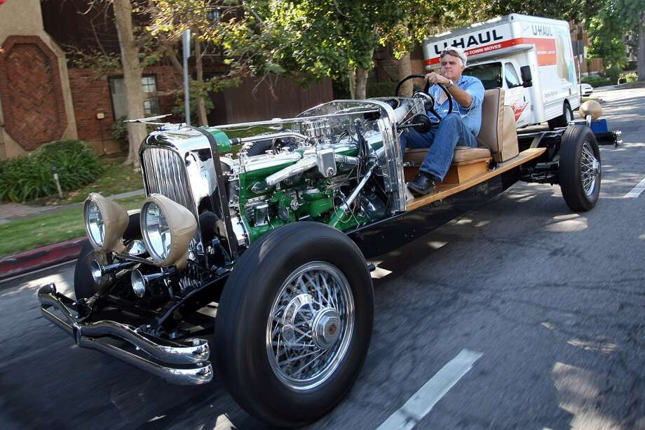 A Jay Leno sighting on August 26, 2010 in Los Angeles. Photo: Gustavo Munoz, BuzzFoto/FilmMagic