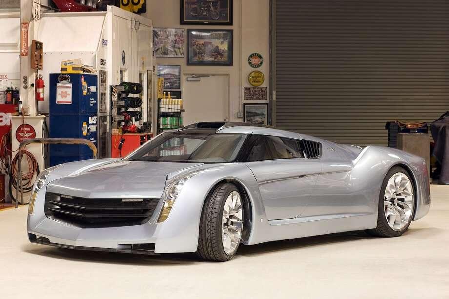 Jay Leno's EcoJet concept car. Photo: NBC, NBC Via Getty Images