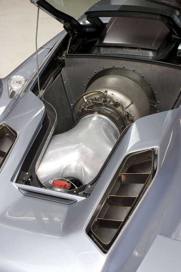 Jay Leno's EcoJet concept car. Photo: NBC, NBC Via Getty Images