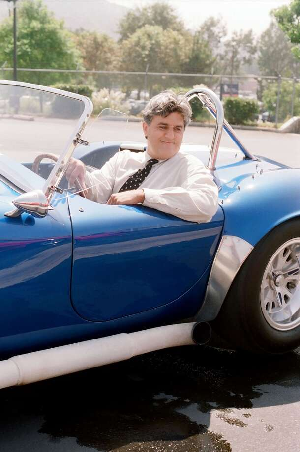 Jay Leno preparing to race Tim Allen in a Cobra. Photo: NBC, NBCU Photo Bank Via Getty Images
