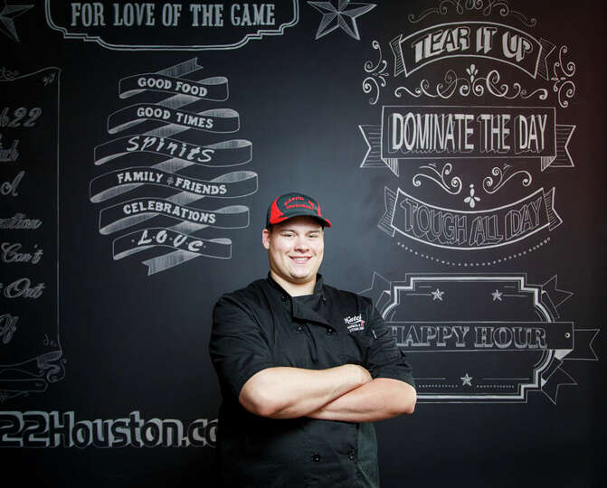 Katch 22Kory Clemens, the chef at Katch 22, says the way the name of his