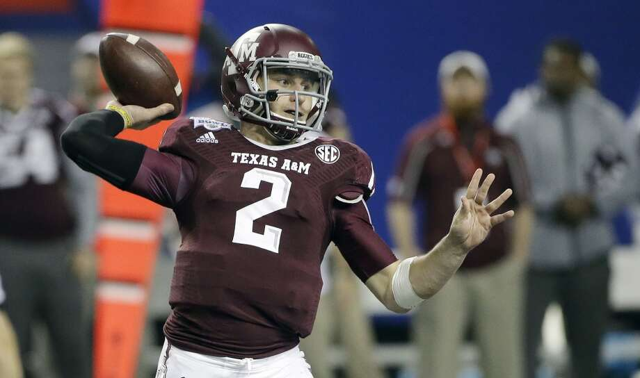 Johnny Manziel   Texas A&M  Redshirt sophomore  6-0, 210 pounds  Career stats: 7,820 yards passing, 63 TD, 22 INT, 68.9 completion percentage, 2,169 yards, 30 TDManziel, the 2012 Heisman Trophy winner, is the most electrifying player in college football and has an enormous upside. He also comes with risk, because of his smaller size and style of play. Photo: John Bazemore, Associated Press