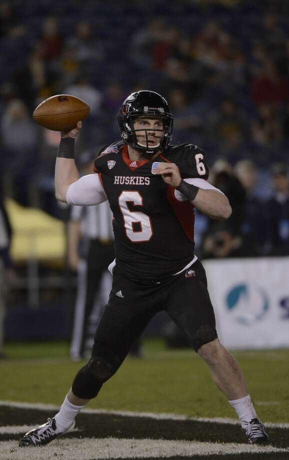 Jordan Lynch  Northern Illinois  Redshirt senior  6-0, 215 pounds  Career stats: 6,209 yards passing, 51 TD, 14 INT, 61.8 completion percentage, 4,343 yards rushing, 48 TD  The Heisman finalist from Northern Illinois rushed for 1,920 yards and threw 24 touchdowns to eight interceptions. Photo: Donald Miralle, Getty Images