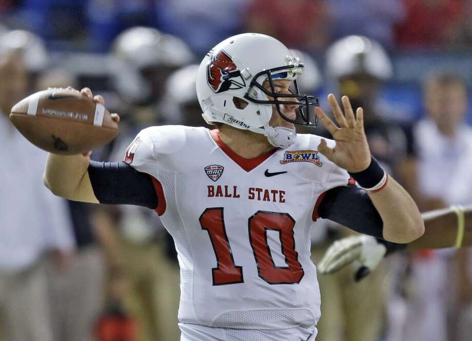 Keith Wenning   Ball State  Senior  6-2, 220 pounds  Career stats: 11,402 yards passing, 92 TD, 42 INT, 63 completion percentage, 328 yards rushing, 13 TD Photo: Chris O'Meara, Associated Press