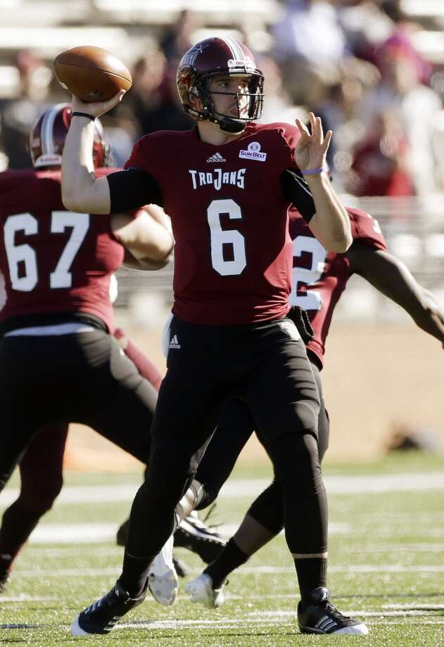 Corey Robinson  Troy  Redshirt senior  6-1, 205 pounds  Career stats: 13,344 yards passing, 80 TD, 48 INT, 64.5 completion percentage Photo: Dave Martin, Associated Press