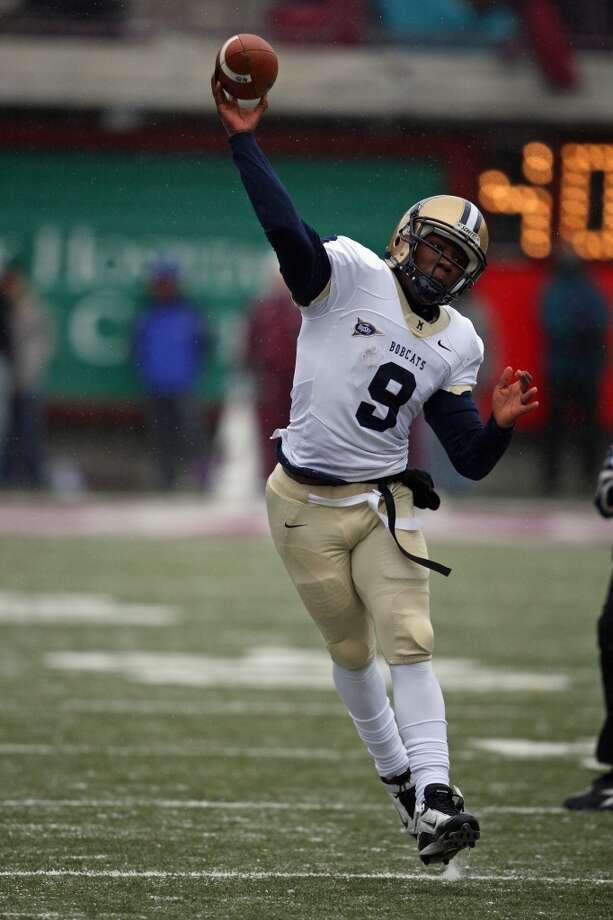 DeNarius McGhee  Montana State  Redshirt senior  5-11, 212 pounds  Career stats: 11,203 yards passing, 79 TD, 35 INT, 64 completion percentage, 1,133 yards rushing, 16 TD Photo: Mike Albans, Associated Press