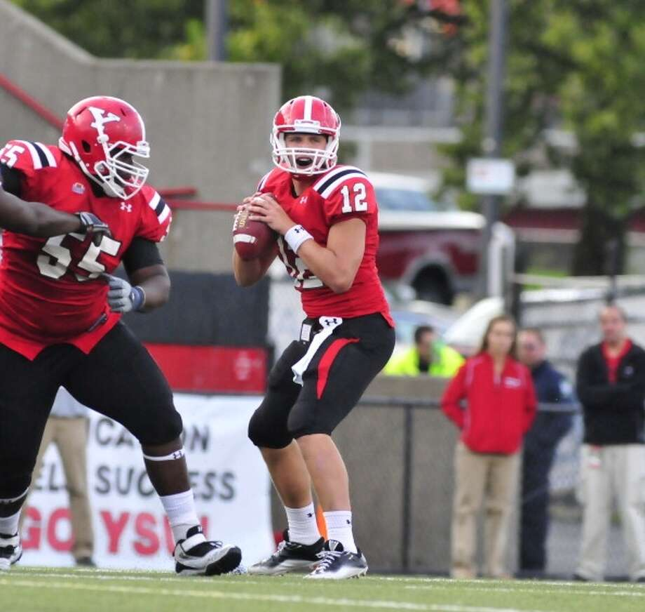 Kurt Hess  Youngstown State  Redshirt senior  6-2, 232 pounds  Career stats: 8,926 yards passing, 75 TD, 29 INT, 62.4 completion percentage, 533 yards rushing, 12 TD Photo: David Dermer, Getty Images