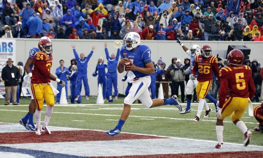 Cody Green   Tulsa  Redshirt senior  6-3, 245 pounds  Career stats: 4,588 yards passing, 29 TD, 22 INT, 54.7 completion percentage, 610 yards rushing, 8 TD Photo: Rogelio V. Solis, Associated Press