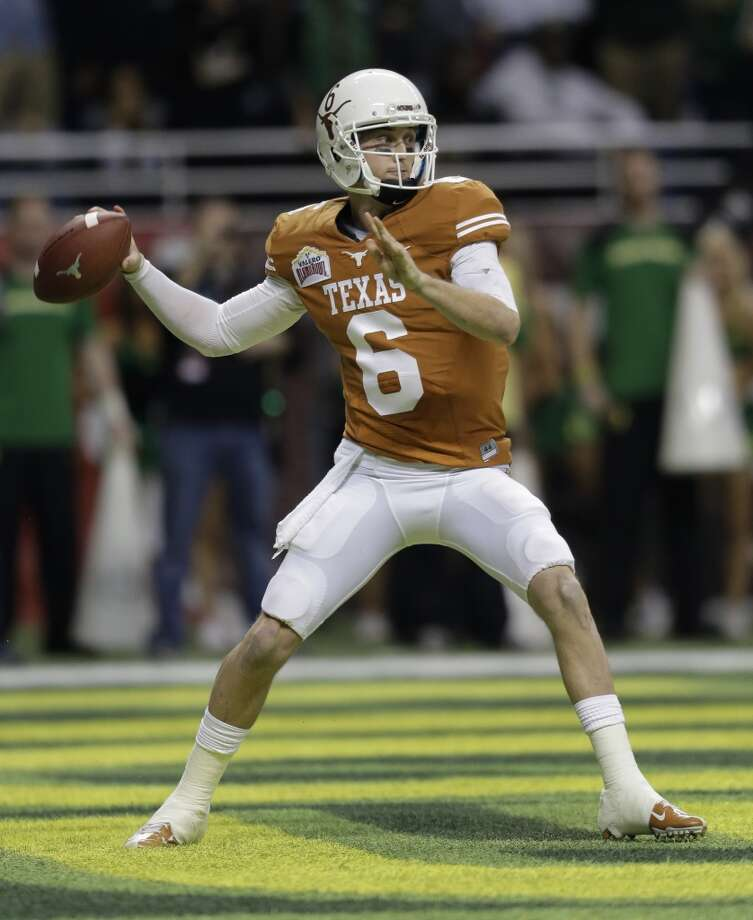 Case McCoy   Texas  Senior  6-1, 200 pounds  Career stats: 3,689 yards, 24 TD, 20 INT, 59.8 completion percentage Photo: Eric Gay, Associated Press