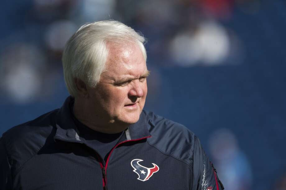 Wade Phillips was the Texans coordinator for three seasons (2011-2013). He also served as the Texans interim head coach in Week 10 following Gary Kubiak's mini-stroke and for the final three games of the 2013 season after Kubiak was fired. Photo: Smiley N. Pool, Houston Chronicle