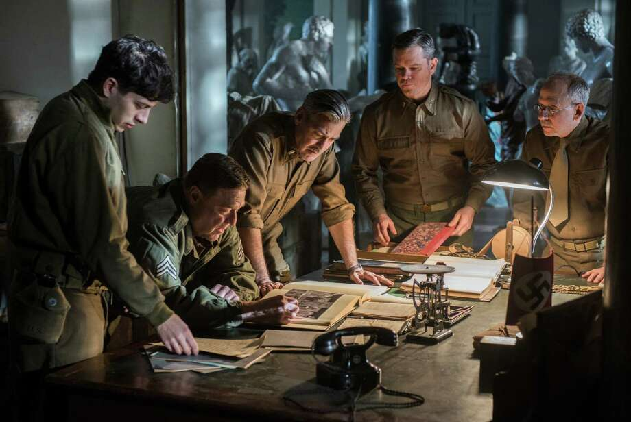 'The Monuments Men,' directed by George Clooney, is based on the  book 'The Monuments Men: Allied Heroes, Nazi Thieves and the Greatest  Treasure Hunt in History' by Robert M. Edsel.  Photo: Claudette Barius, HOEP / Columbia Pictures - Sony
